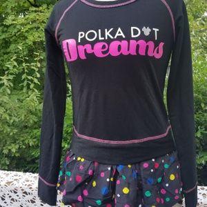 NWT Disney Polka Dot Dreams Girls X-Small Dress